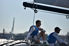 Extreme Sailing Series in St. Petersburg, Russia Stock Image