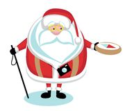 Extreme Santa Royalty Free Stock Photography
