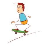 Extreme skateboarding Stock Images