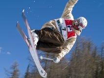 Extreme ski Royalty-vrije Stock Fotografie
