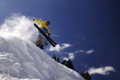 Extreme skier Stock Image