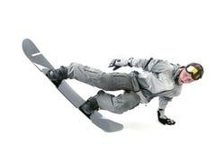 Extreme snowboarder Stock Photo