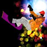 Extreme Snowboarding. Stock Image