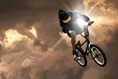 Extreme sport bmx Stock Images