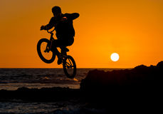 Extreme sport bmx Royalty Free Stock Images