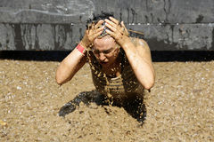 Free Extreme Sport Challenge Ice Water Stock Photos - 74105483