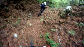 Extreme Sport Cycling Race stock video footage
