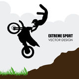Extreme sport design Royalty Free Stock Images