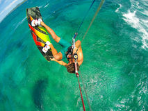 Extreme Sport, Kiteboarding Royalty Free Stock Images