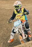 Extreme sport motocross competition stock images