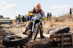 Extreme Sport Motorcycle, motocross competition Royalty Free Stock Photo