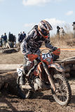 Extreme Sport Motorcycle, motocross competition Stock Image