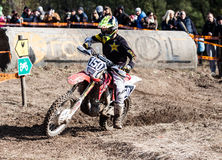Extreme Sport Motorcycle, motocross competition Royalty Free Stock Photography