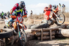 Extreme Sport Motorcycle, motocross competition Stock Photo