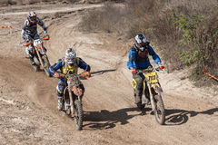 Extreme Sport Motorcycle, motocross competition Stock Photos