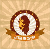 Extreme sport Stock Photo