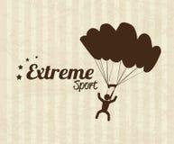Extreme sport Stock Image