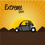 Extreme sport Royalty Free Stock Images