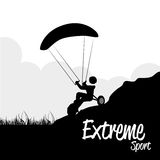 Extreme sport Stock Images