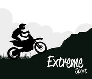 Extreme sport Stock Image