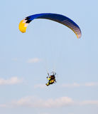 Extreme sport parachute in the sky Stock Photos