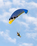 Extreme sport parachute in the sky Royalty Free Stock Photo