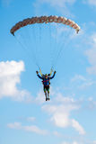 Extreme sport skydiver Royalty Free Stock Photography