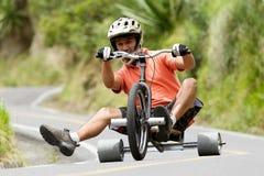 Extreme Sport Trike Drifting Stock Photography