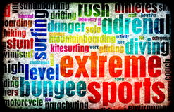 Extreme Sporten stock illustratie