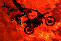 Extreme sports abstract. Grungy extreme sports abstract background illustration royalty free illustration
