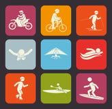Extreme sports design. Royalty Free Stock Photo
