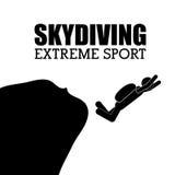 Extreme sports design Royalty Free Stock Image