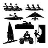 Extreme sports design. Royalty Free Stock Photos