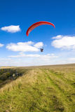 Extreme sports - paragliding Stock Photo