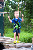 Extreme sports park for children Royalty Free Stock Photos
