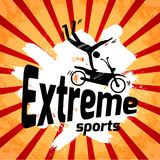 Extreme sports poster Royalty Free Stock Photos