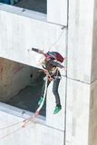 Extreme sports Ropejumping Royalty Free Stock Photos