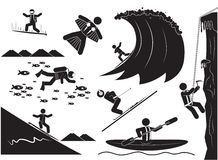 Extreme Sports Stock Photography