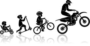 Extreme Sports Starts At A Young Age Royalty Free Stock Photography