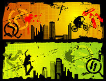 Extreme sports vector Stock Photos