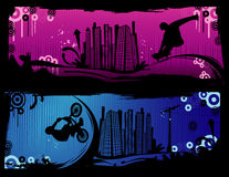 Extreme sports vector Stock Photo