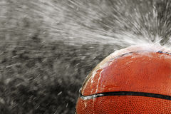 Extreme Spray Basketball Royalty Free Stock Image