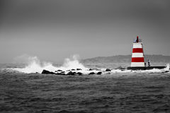 Extreme visserij Stock Foto's