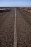 Extreme Wüstenstraße Stockfotos