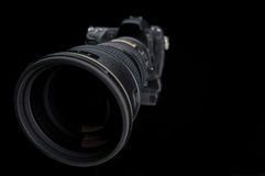 Extreme wide angle close up of a large lens Royalty Free Stock Photos