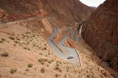 Extreme Winding Road Royalty Free Stock Image