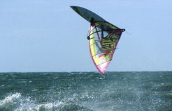 Extreme windsurf Royalty Free Stock Photography