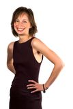 extremely happy slim woman Στοκ Εικόνες