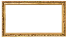 Free Extremely Long Golden Frame Stock Photography - 29868652