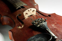 Extremely old master violin Stock Image